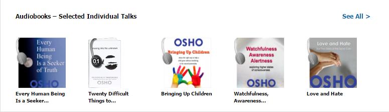 Osho audio books
